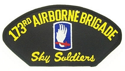 173rd Airborne Brigade Patches
